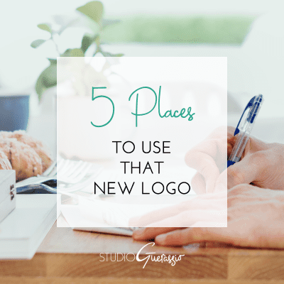 5 Places to Use That New Logo